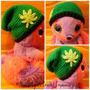 Canna Beanie by Manda Proell of MandaLynn's Crochet Treasures
