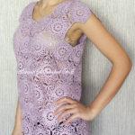 Crochet Blouse by Jane Green of Beautiful Crochet Stuff