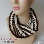 Picot Infinity Cowl by Rhelena of CrochetN'Crafts