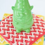 Bright Chevron Dishcloth by Moogly