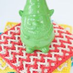 Bright Chevron Dishcloth by Moogly