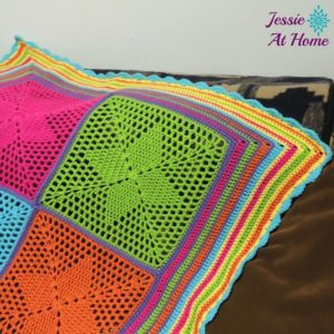 Four Points Star Blanket by Jessie At Home
