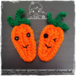 Carrot Applique by Damn it Janet, Let's Crochet