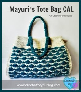 Mayuri's Tote Bag CAL by Erangi Undeshika of Crochet For You