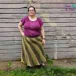 Off Balance Skirt by Jessie At Home