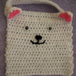 Cat Baby Bib by Crochet Addict