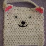Cat Baby Bib by Crochet Addict