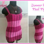 Summer Air Tank Top by Maz Kwok's Designs