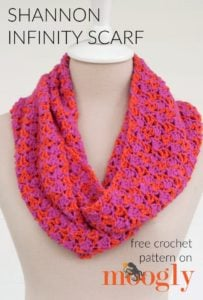 Shannon Infinity Scarf by Moogly