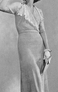 Pinehurst Dress #1095 by Free Vintage Crochet