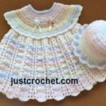 Dress and Sun Hat by JustCrochet