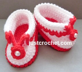 Cuffed Shoes by JustCrochet