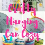 Crafty Hanging Can Cozy by Moogly
