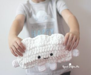 Cuddly Crochet Cloud by Repeat Crafter Me