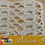 Delicate Shells Stitch by Meladora's Creations