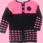 Crochet Heart Stitch Cardigan by aamragul of Crochet/Crosia Home