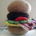 Hamburger by Crochet Fanatic