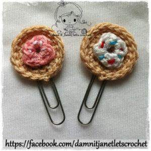 Donut Applique by Damn it Janet, Let's Crochet
