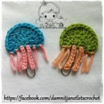Jellyfish Applique by Damn it Janet, Let's Crochet