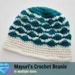 Mayuri's Crochet Beanie by Erangi Udeshika of Crochet For You