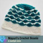 Mayuri's Crochet Beanie by Erangi Udeshika of Crochet For You