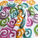 Modern Rose Afghan by Moogly