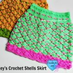 Shelley's Crochet Shells Skirt by Erangi Udeshika of Crochet For You