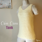 Criss Cross Tank by Rhelena of CrochetN'Crafts