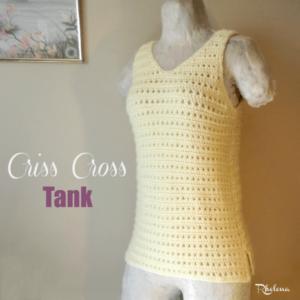 Criss Cross Tank by Rhelena of CrochetN'Crafts