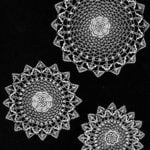 Cobweb Doily Luncheon Set by Free Vintage Crochet