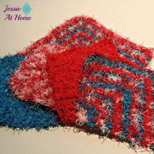 Angled Scrubby Washcloth by Jessie At Home