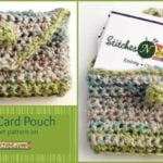 Business Card Pouch by Stitches 'N' Scraps