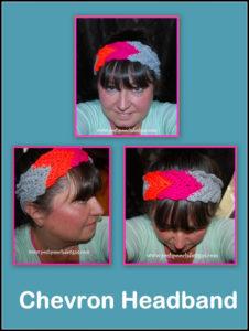 Chevron Crochet Headband by Sara Sach of Posh Pooch Designs