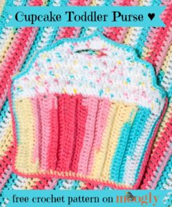 Cupcake Toddler Purse by Moogly