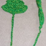 Christmas Tree Bookmark by April Moreland of The Left Side of Crochet