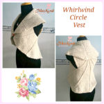 Whirlwind Circle Vest by Maz Kwok's Designs