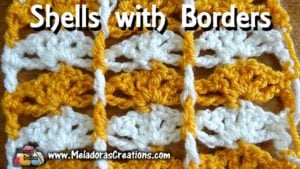 Shells with Borders by Meladora's Creations