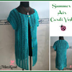 Summer Air Cardi Vest by Maz Kwok's Designs