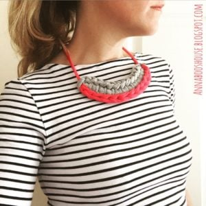 T-Shirt Necklace by Annaboo's House