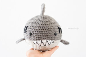 Crochet Shark Amigurumi by One Dog Woof