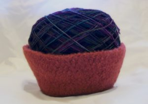 Felted Bowl by Candace for Crochet Spot