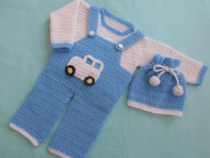 Boy Romper Set by aamragul of Crochet/Crosia Home