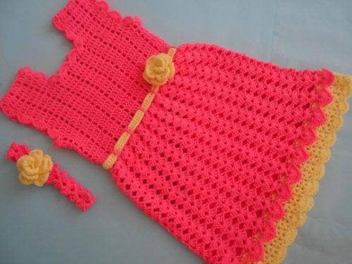 Baby Frock By Aamragul Of Crochet Crosia Home Crochet