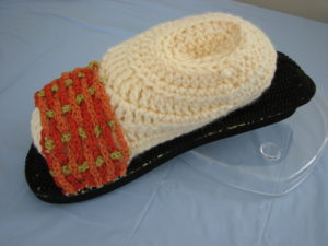 Woven Sandal by Donna's Crochet Designs