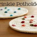 Sprinkle Potholders by Haak Maar Raak