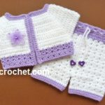 Short Jacket and Pants by JustCrochet