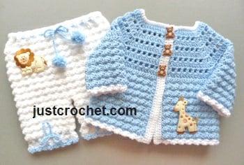 Coat And Bloomers By Justcrochet Crochet Pattern Bonanza