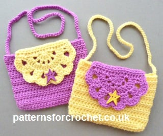 Crochet Purse For Child : Childs Purse by Patterns For Crochet - Crochet Pattern Bonanza