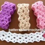 Pointy Bracelet by Patterns For Crochet