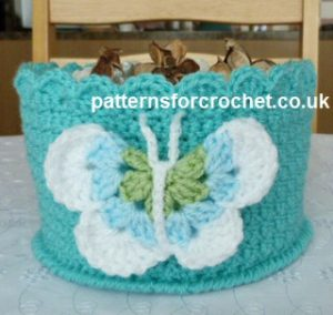 Multi Use Bowl by Patterns For Crochet